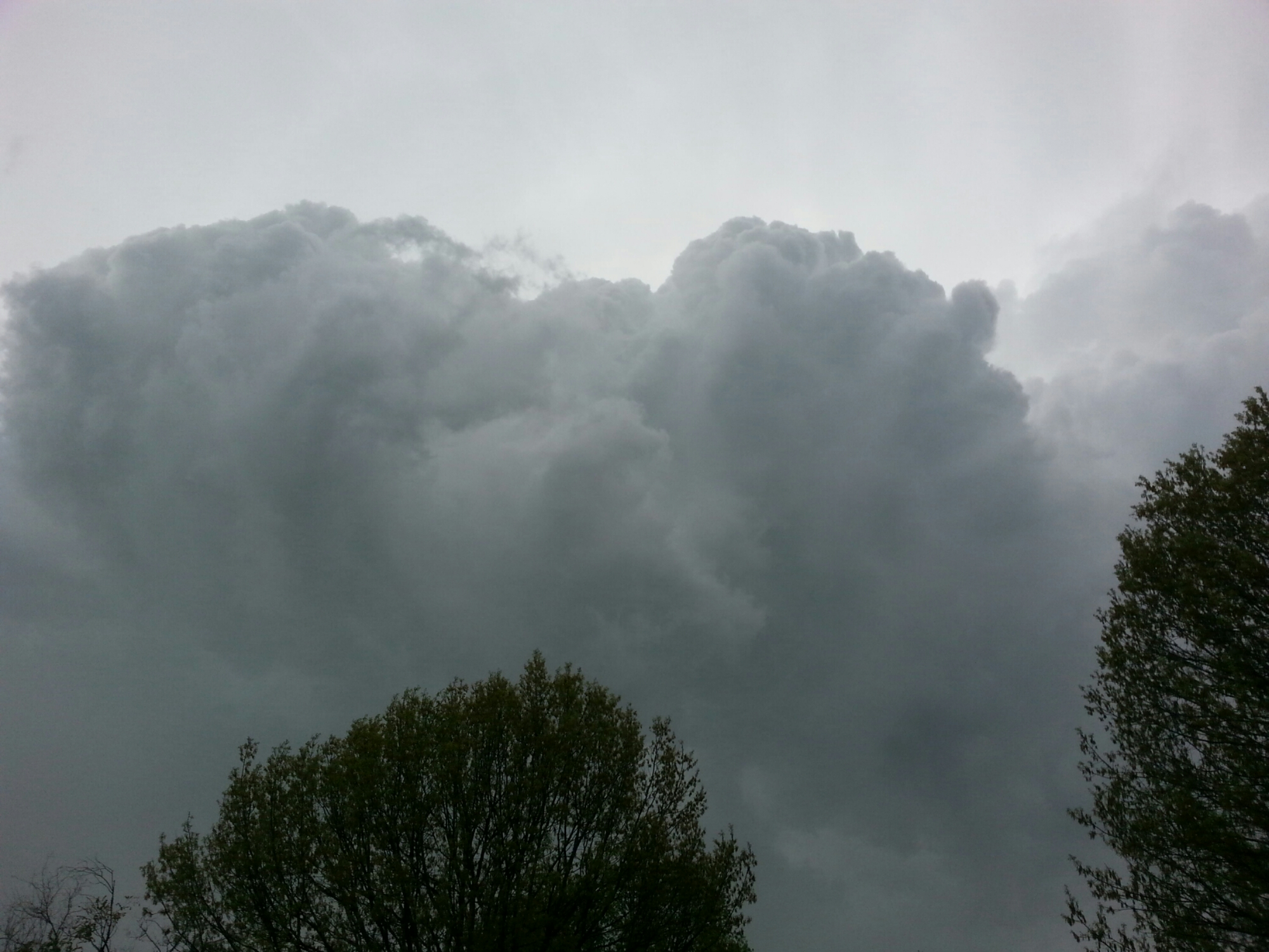 Midwest Storm Clouds April 27, 2014